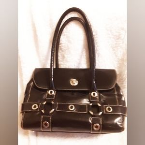Madi Purse Black Leather Made in Italy